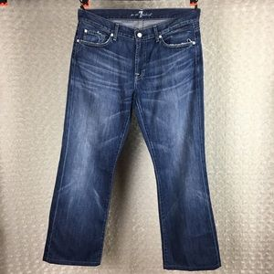 7 For All Mankind Jeans Boot cut Sz 34